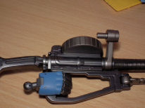 1/48 Zaku 2 laser with hand now fitted