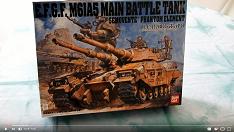 1/35 E.F.G.F M61A Battletank unboxing