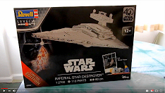 1/2700 Revell Imperial star Destroyer unboxing