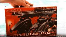 Kotobukiya 1/72 Armoured Core 006 Alicia Unsung unboxing