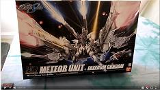 Bandai HG 1/144 Meteor unit with Freedom Gundam unboxing