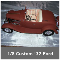 1/8 scale '32 Ford