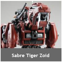 Sabre Tiger Zoid